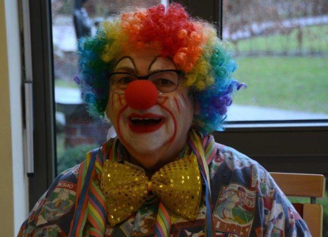 Ein Clown darf im Karneval nicht fehlen !